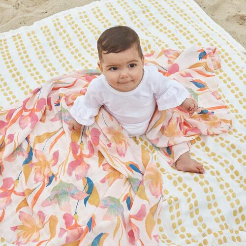 Aden + Anais Silky Soft Bamboo Swaddles 3 pack