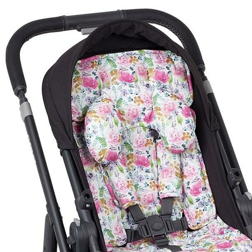 Watercolour Collection Pram Liner